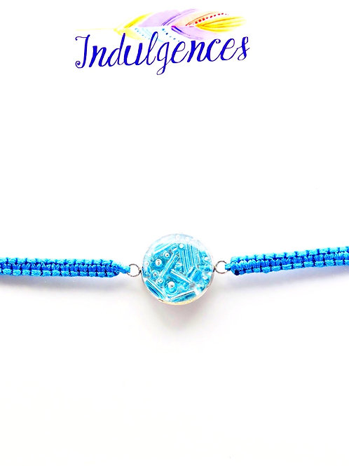 Turquoise Bracelet with Beads