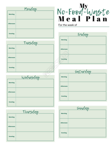 food waste, meal prepping, meal plan, meal prep, no food waste, limit food waste, food waste challenge, eco, eco meal plan, foodcycler, food recycling