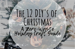 Food Cycler, zero-waste, food recycling, food waste management, DIY, Holiday craft guide
