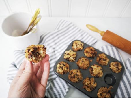 Zero-Waste, 3-Ingredient Oatmeal Muffins