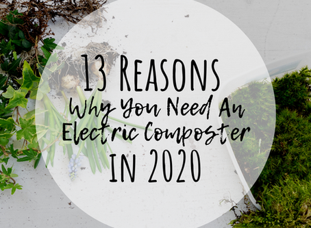 13 Reasons Why You Need An Electric Composter In 2020