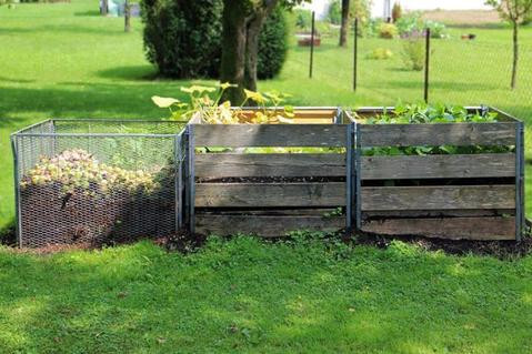 Food Cycler, heap compost, compost pile, how-to compost, pros cons compost pile, easy compost, compost instructions