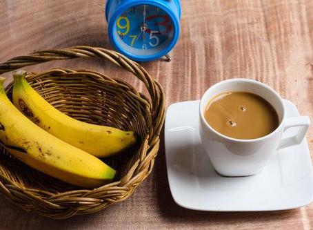 2 Ingredient, 0-Waste Vegan Banana Cappuccino