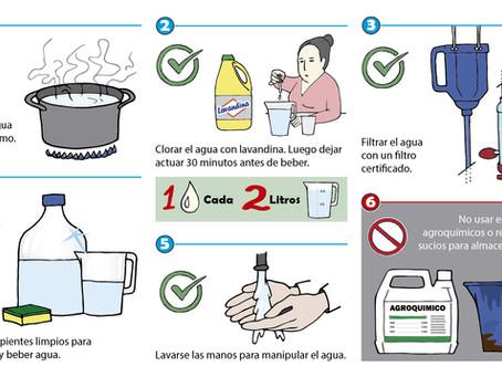 Cuidar el agua ¡empieza por casa!
