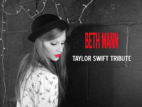 bethmann,singer,taylor,swift,tribute,impression,pop,entertainer,party