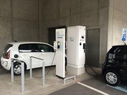 Volkswagen fast-charing station