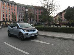 BMW i3 at Gärtnerplatz