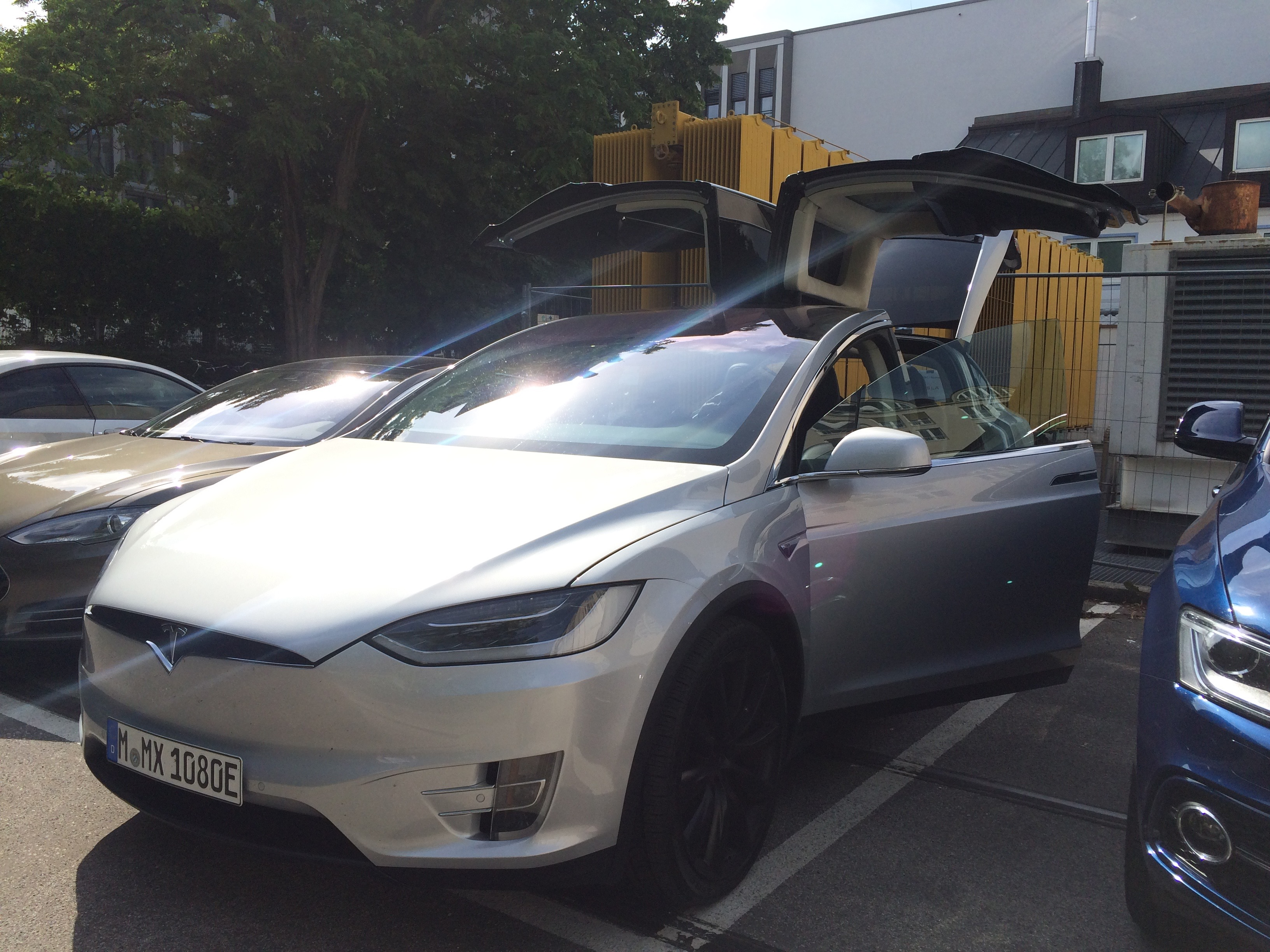First Tesla Model X in Germany