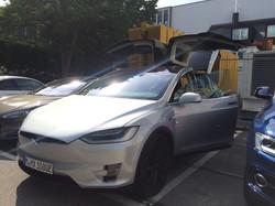 First Tesla Model X in Germany