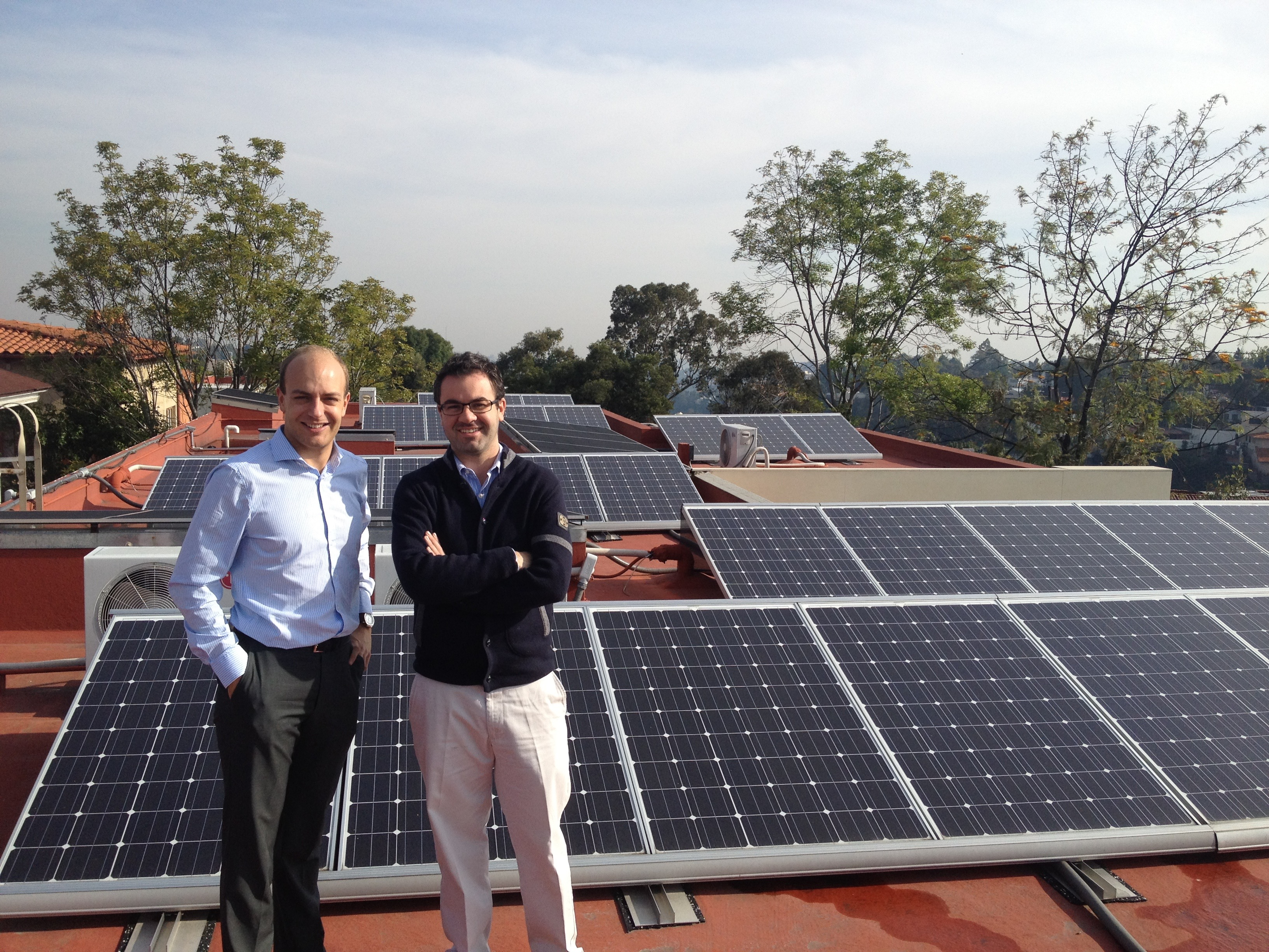 First solar project in Mexico