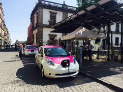 Taxis électricos in CDMX