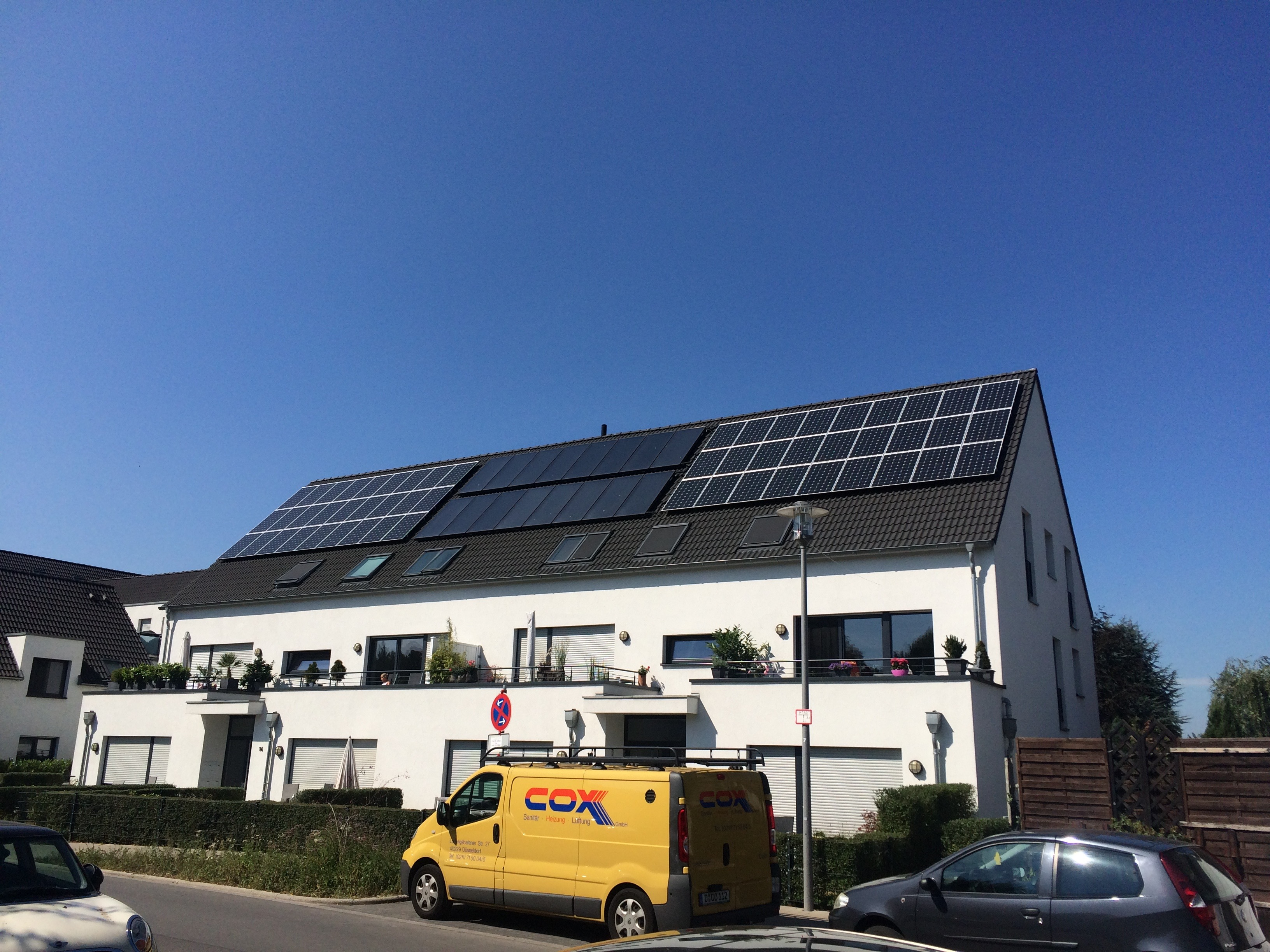 Solar installation in DUS