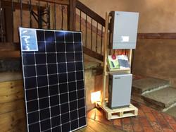 Solar PV + LG battery storage