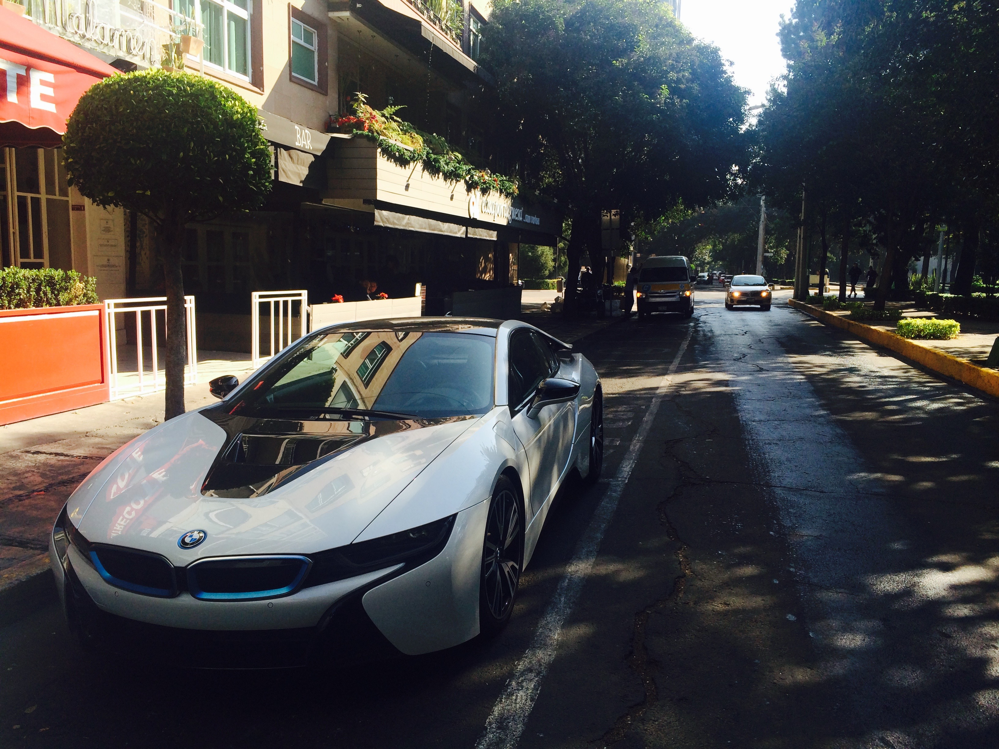 BMW i8 in Polanco, CDMX
