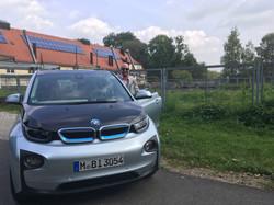 Renewable energy meets EV