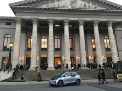 BMW i3 at Munich Opera