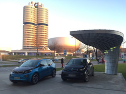Charging for 2 @ BMW Welt