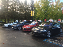 Tesla Supercharger in Mountain View