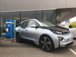 Fast charging the BMW i3