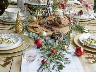 ESPECIAL DE NATAL: 5+ DIY montagem da mesa para ceia e almoço de Natal