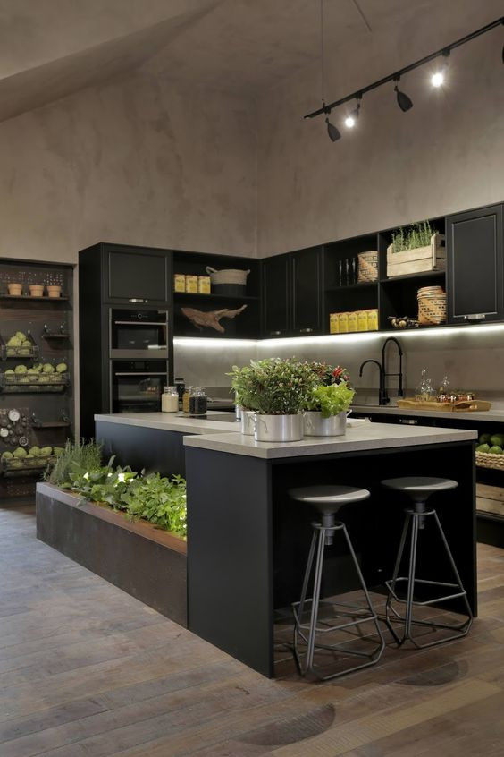 Essa cozinha da CasaCor SP 2017 é muito bonita, mas você tem espaço na sua casa para fazer exatamente assim?