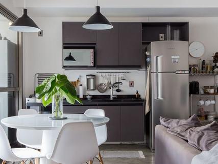 Sua sala com cozinha integrada: você pode estar cometendo esses 5 erros