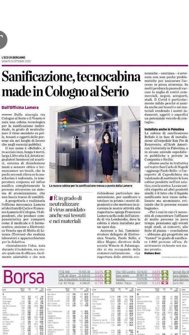 """""""L'Eco di Bergamo"""""""