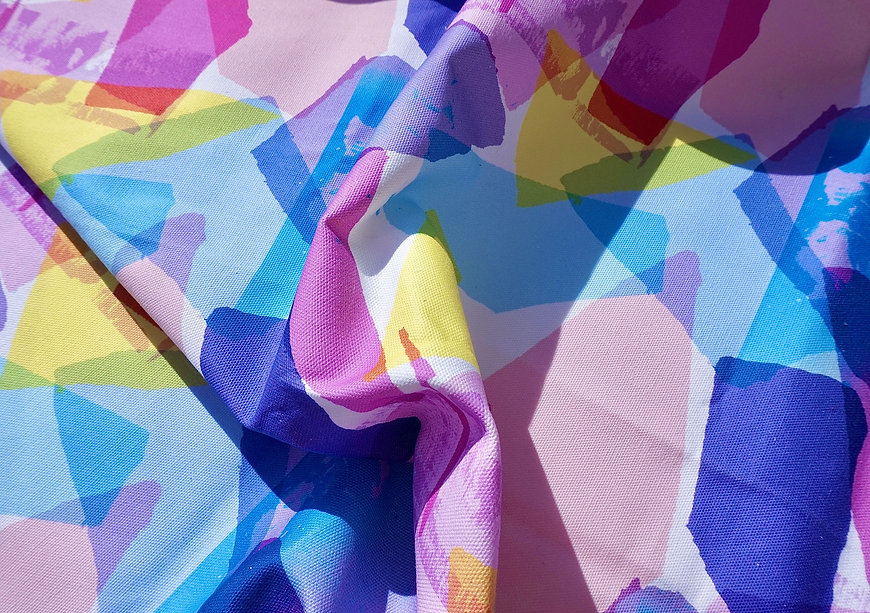 Colourful Fabric Design