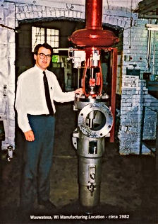 Man with Hydro-Thermal Hydroheater