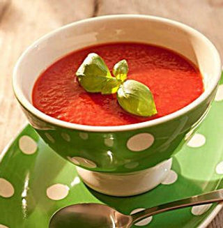 SilverLine processing system cooks tomato soup perfectly so it achieves the ideal color