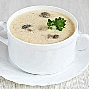 SilverLine cooking system handles the gentle cooking process needed for cream of mushroom soup