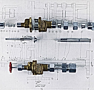Hydroheater valves from 1930