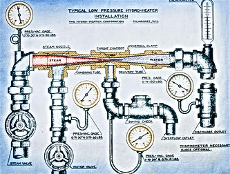 Hydro-Thermal engineering drawing
