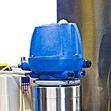 SilverLine processing sytem's CIP divert valve