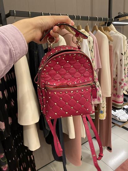 Valentino 桃粉色 背包