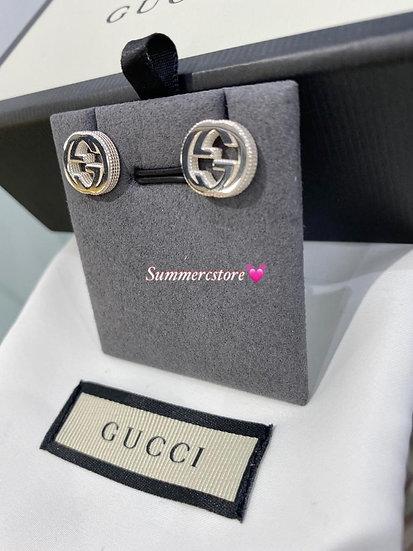 Gucci 大logo 耳環