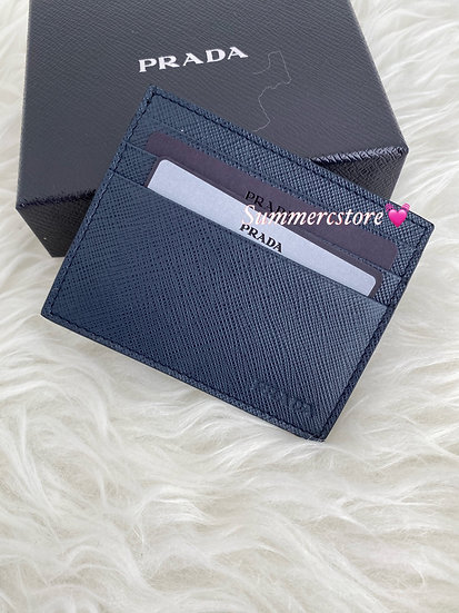 Prada man card holder