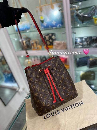 Louis Vuitton 紅色水桶