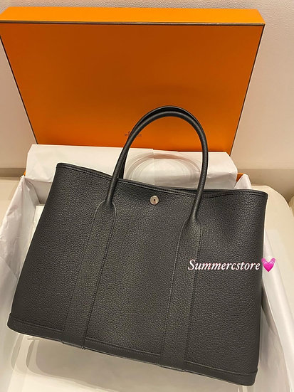 Hermes Garden Party 36 Black