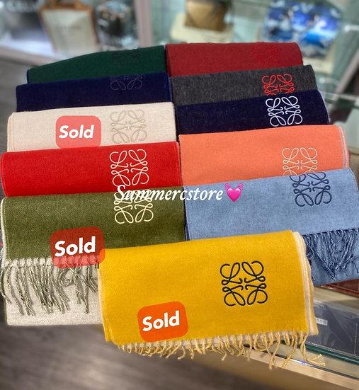 Loewe 羊毛x cashmere 圍巾