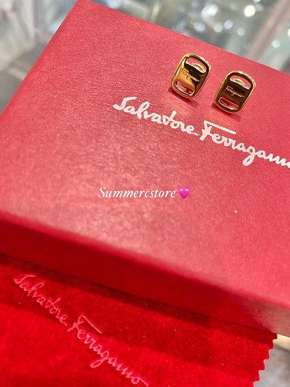 Ferragamo Earrings 金色