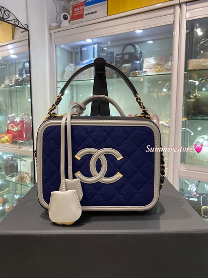 Chanel vanity case medium size