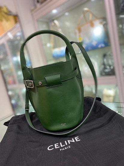 Celine nano 水桶 綠色