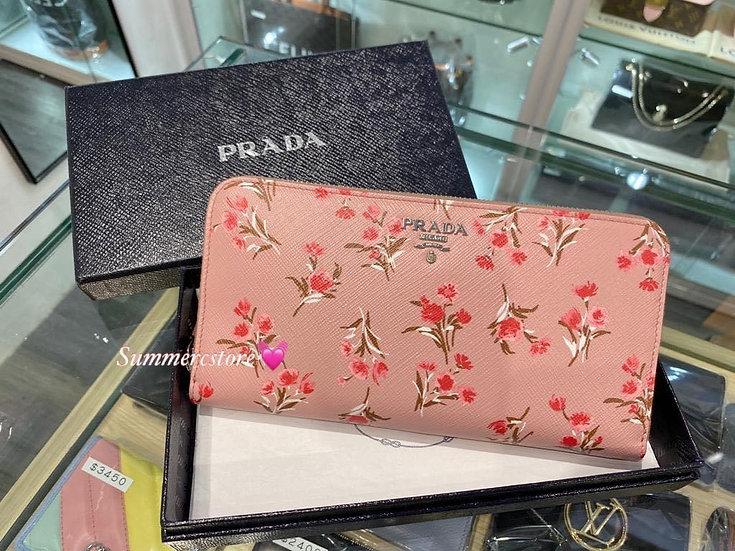 Prada Long Wallet - On Sale