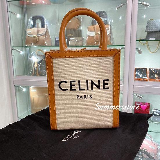 Celine Mini Tote 白色