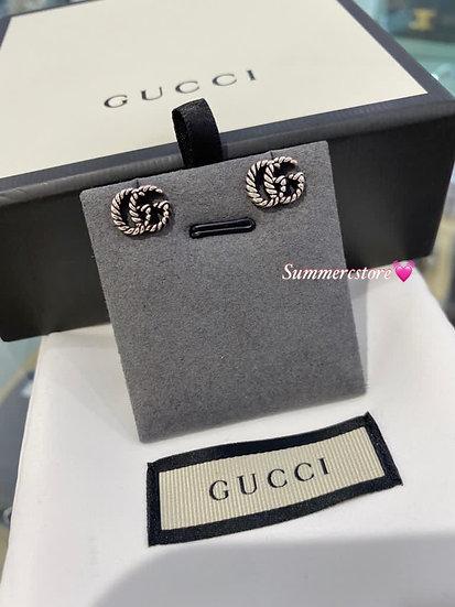 Gucci logo 耳環