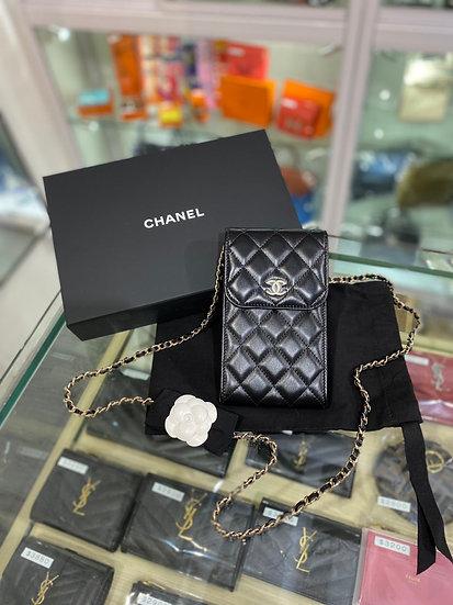 Chanel 山茶花 電話袋