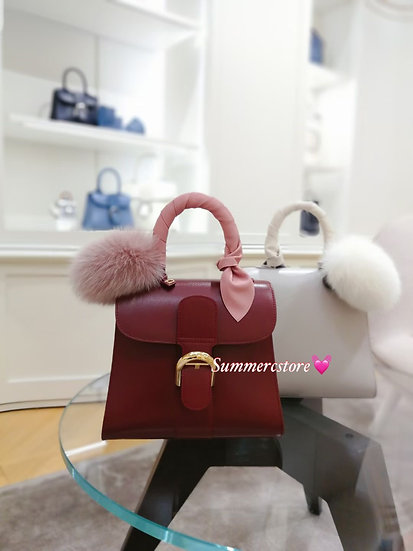 Delvaux brilliant box leather mini size