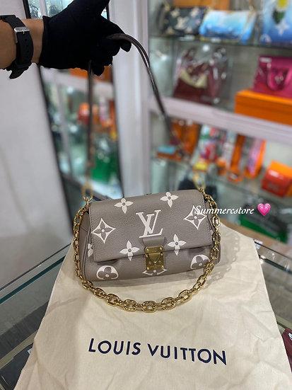 Louis  Vuitton 新款 灰色手袋