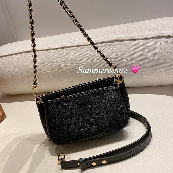 Louis Vuitton 3 合一 黑色
